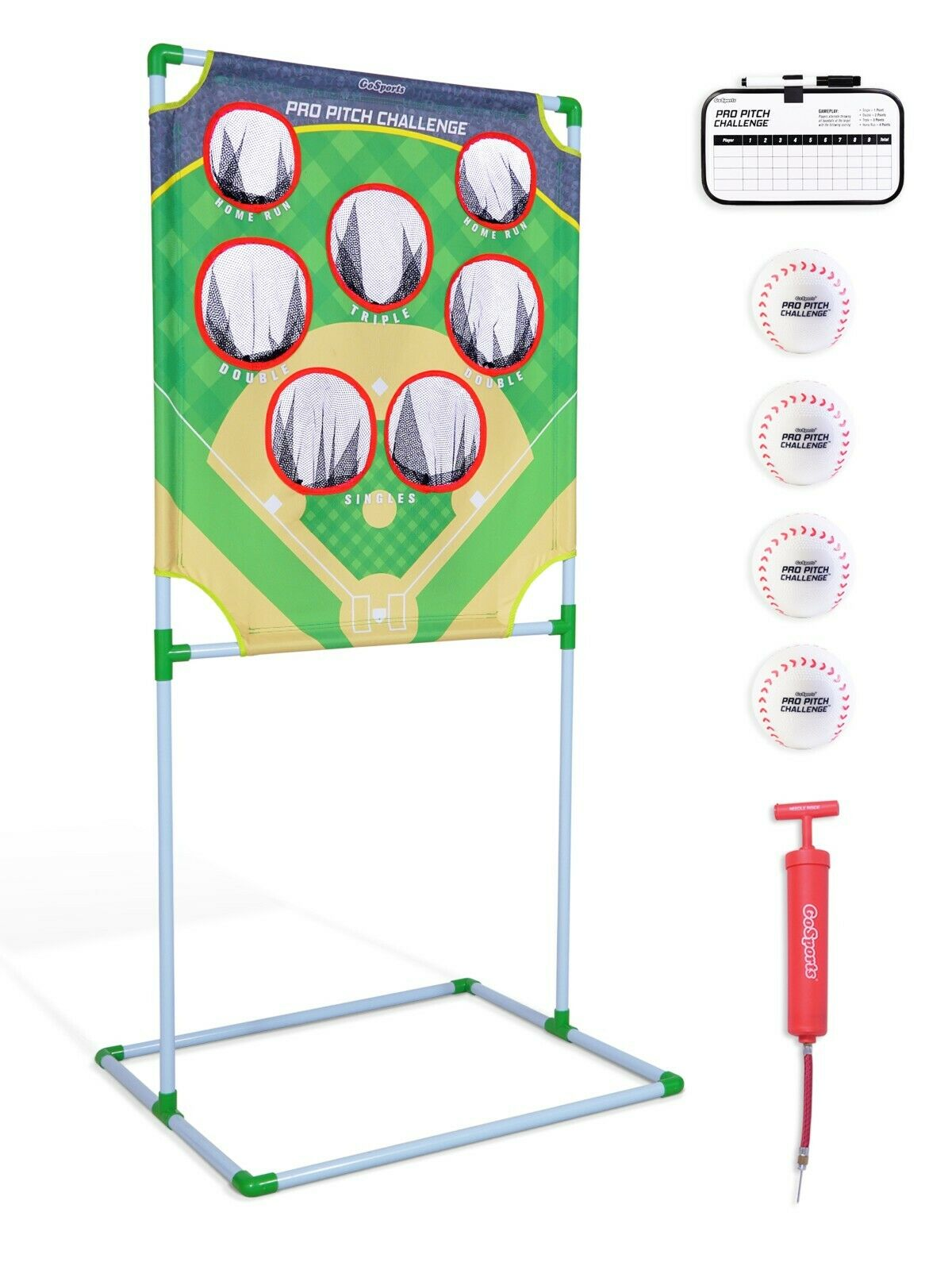 GoSports Pro Pitch  Challenge Baseball Toss Game Set Fun for Baseball Fans  incentive promotionals