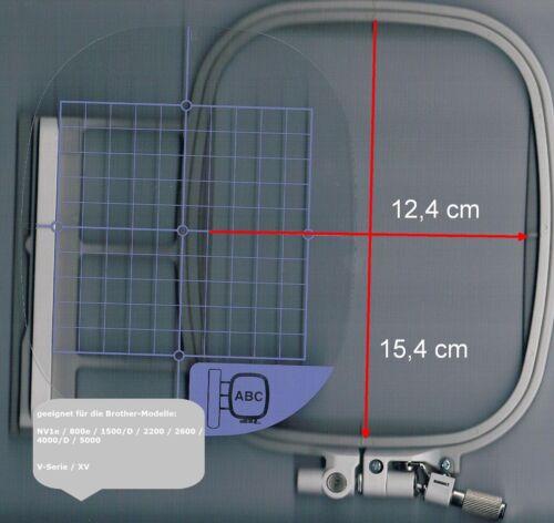 geeignet für BROTHER NV-1500//2200//4000-//6000D//NV-1//NV-1e Stickrahmen M 10x10 cm