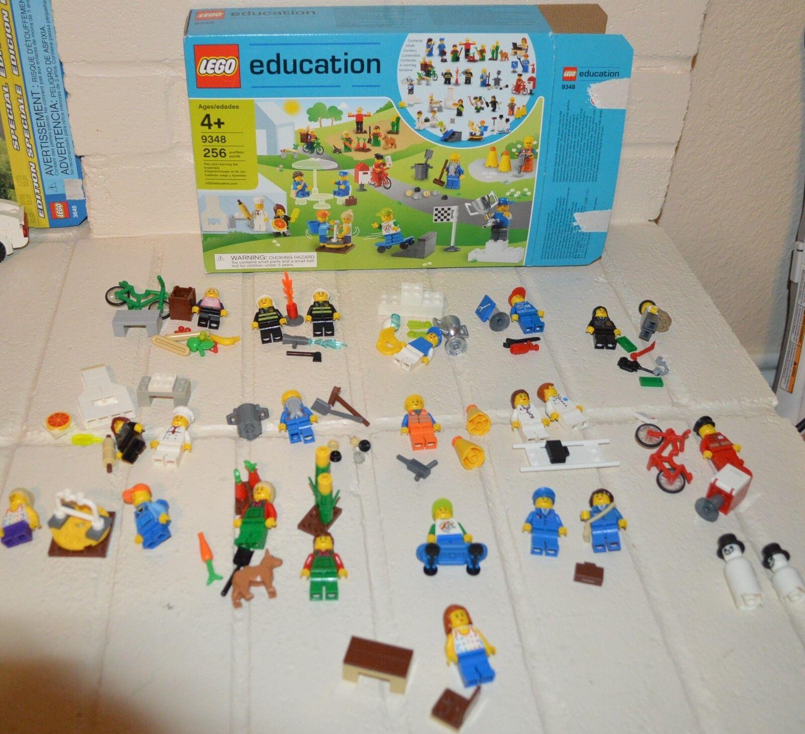 Lego Bildung Community Stadt Stadt Minifigur Set 9348 Im Ruhestand