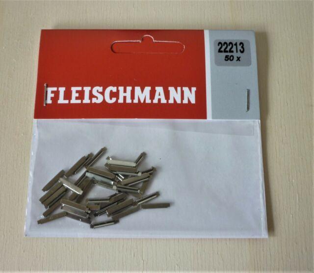 N 1:160 Fleischmann 22213 + 50 Stück Schienenverbinder + neu u. unbenutzt in OVP