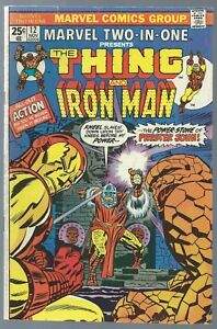 Marvel-TWO-IN-ONE-The-THING-amp-U-Pick-Comic-Vintage-Bronze-Age