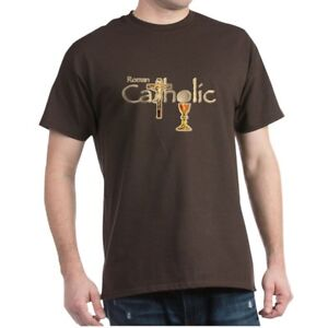 d17c9fedc CafePress Proud To Be Catholic Dark T Shirt 100% Cotton T-Shirt ...