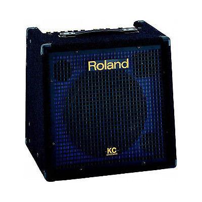 roland kc 350 mixing keyboard amplifier with vrt headphones cables ebay. Black Bedroom Furniture Sets. Home Design Ideas