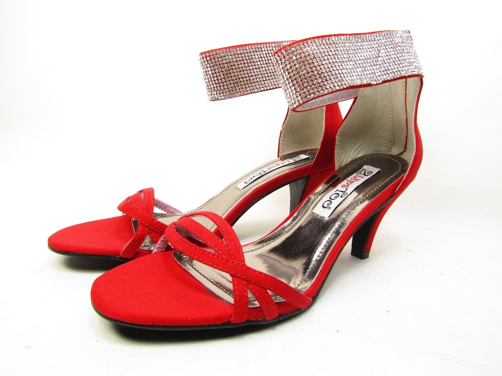 2 Lips Too Too Enlight Womens Sandals Red Size 8M