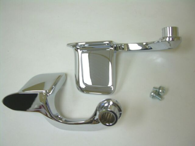 1959-1967 Chevy Impala Interior Chrome Door Handles Pair 2DRHT 4DRHT Buick Olds