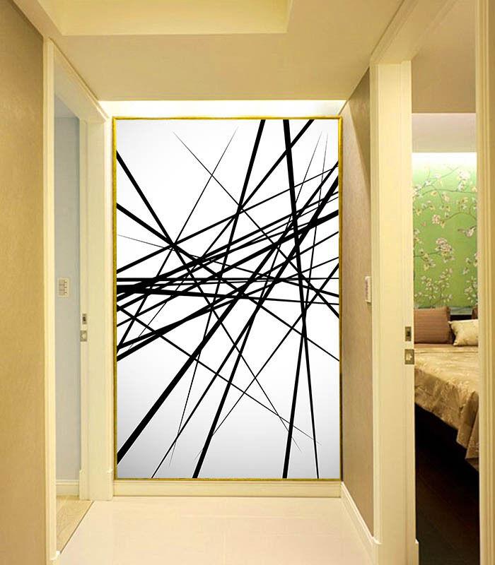 3D Interwoven Lines 717 Wall Paper Wall Print Decal Wall Deco Wall Indoor Murals