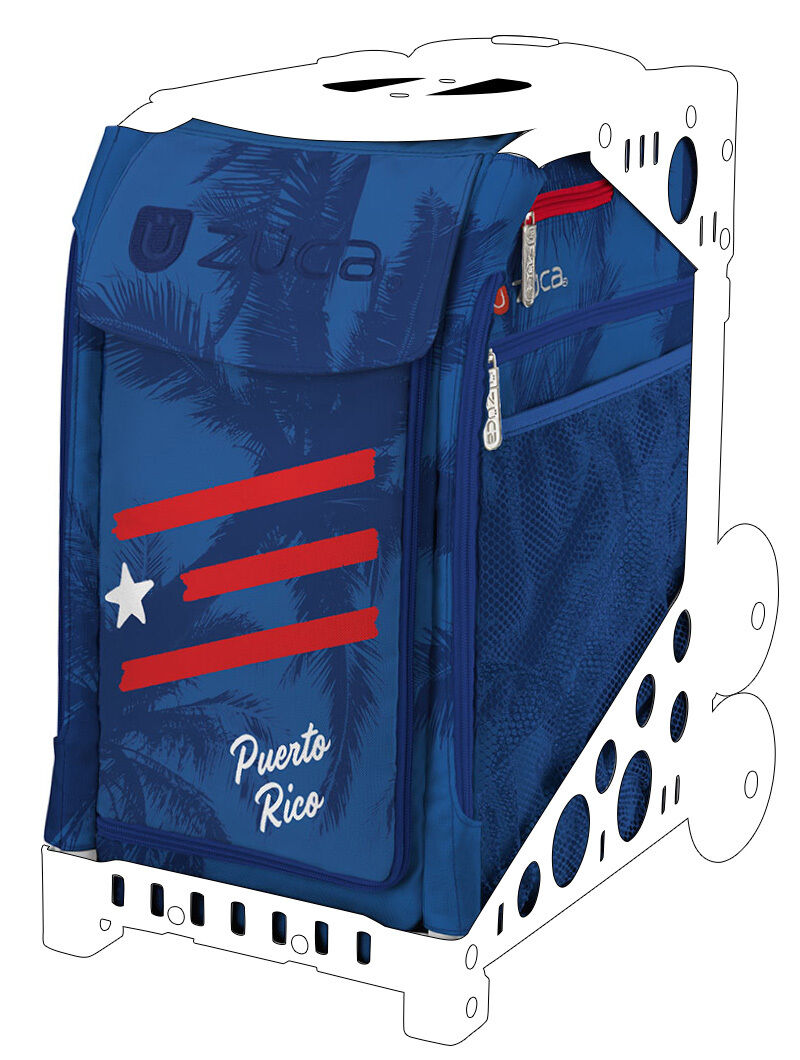 ZUCA Sports No Insert Borsa - PUERTO RICO - No Sports Frame baac2c