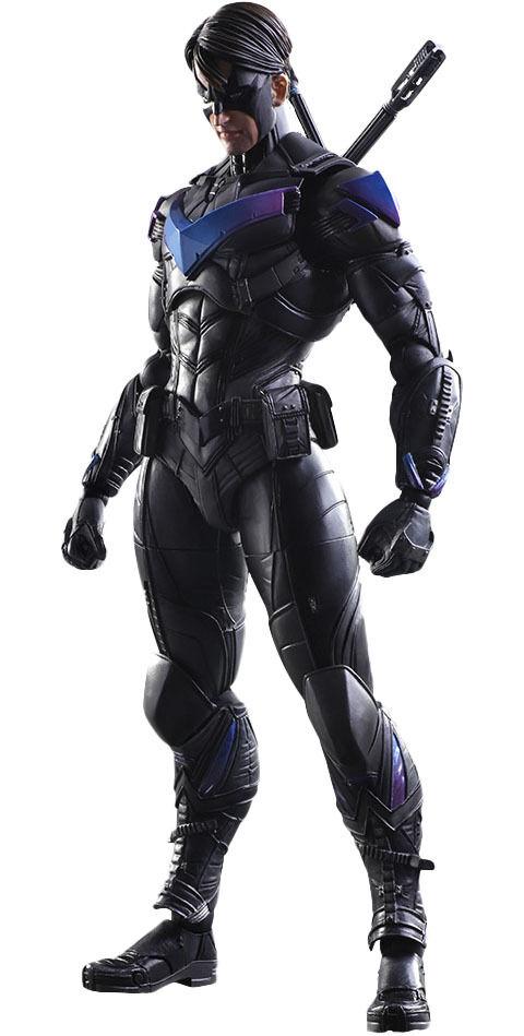 BATMAN  Arkham Knight - 10  Nightwing Play Arts Kai Action Figure (Square Enix)