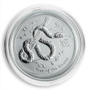 Australia-50-cents-Year-of-the-Snake-Lunar-Series-II-1-2-oz-Silver-UNC-2013