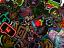 thumbnail 2 - 20 Random Colorful Neon Light Style Anime Skateboard Laptop Stickers Lot Bomb