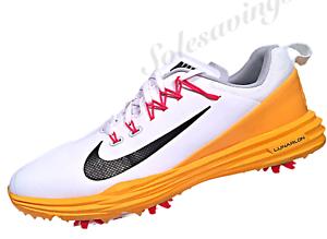 newest 807e4 780dc Image is loading Nike-Lunar-Command-2-White-Orange-Women-039-