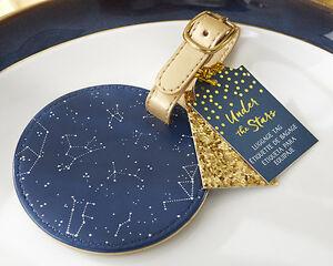 Under The Stars Constellation Luggage Tags Bridal Shower Wedding ...