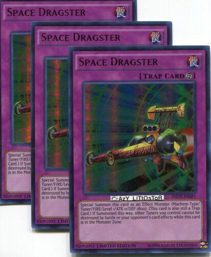 YuGiOh Space Dragster INOV-ENSP1 Ultra Rare Promo Card Mint