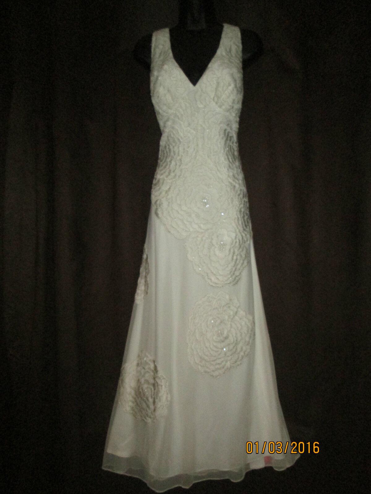 Nicholas Millington Vintage style Wedding Evening Dress