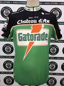 maglia-ciclismo-bike-shirt-maillot-camiseta-trikot-GATORADE-CHATEAUX-TG-6-I738
