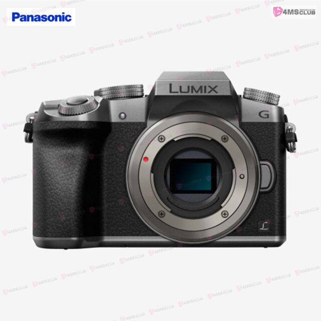 Panasonic DMC-G7 LUMIX G Compact Camera 4K Video & 4K Camera Silver  Body