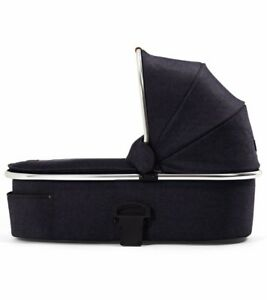 Mamas Amp Papas Urbo And Sola Carrycot Blue Denim Chrome