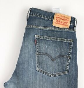 Levi's Strauss & Co Hommes 514 Extensible Jambe Droite Jean Taille W36 L30
