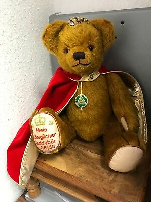 Hermann Teddy Regio Teddy Orso 38 Cm. Disponibilità Limitata. Mattoncini.-mostra Il Titolo Originale Buona Reputazione Nel Mondo