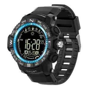Smart Watch Sonnenlicht-sichtbarer Bildschirm Leuchtdisplay Wasserdicht schwarz