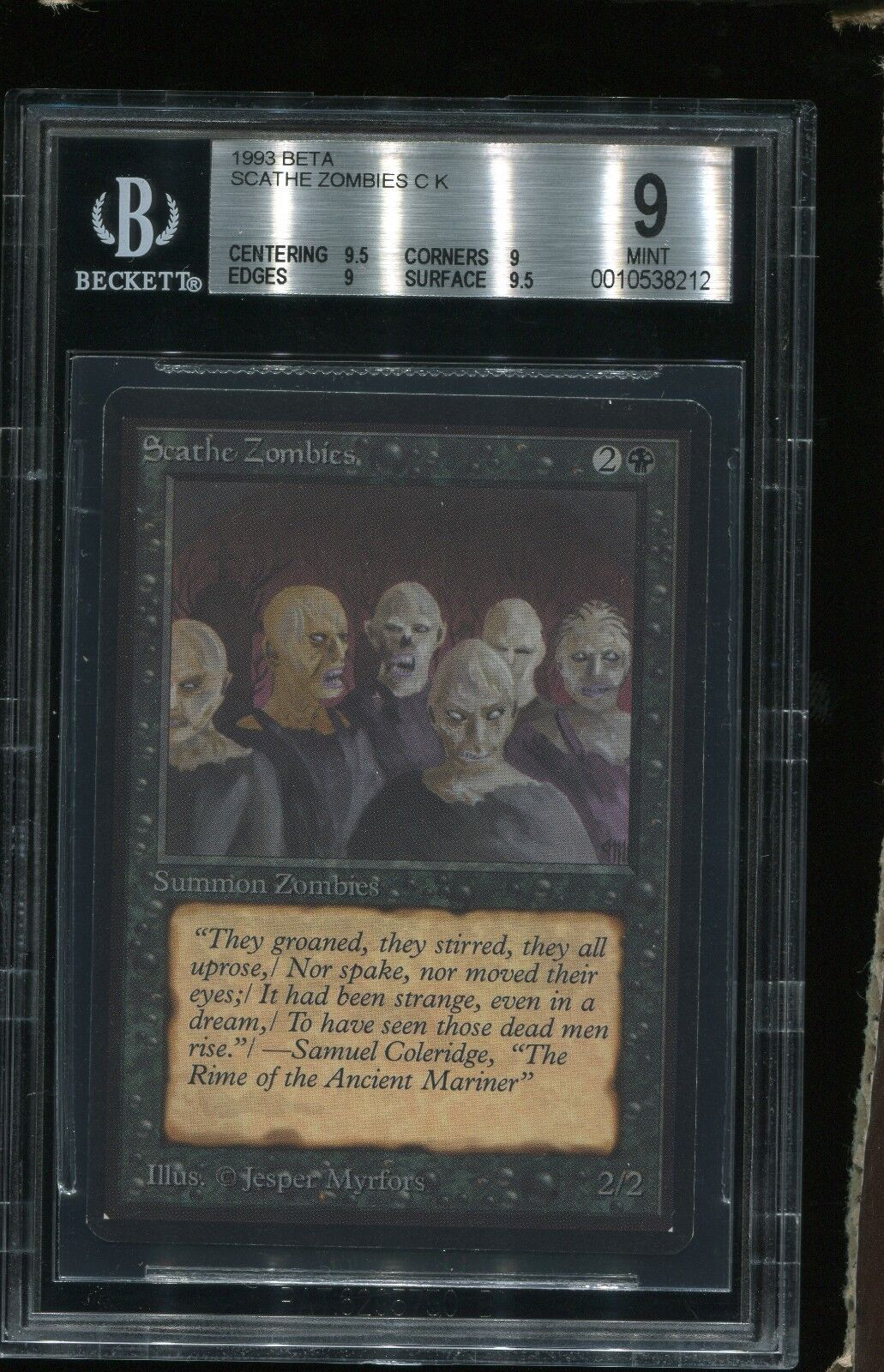 Bgs unter 9 beta scathe zombies mtg old - school - magie siehe scans