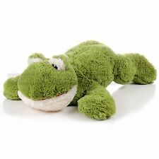 "24"" Light Green Garden Frog Plush Soft Stuffed Animal Toy"