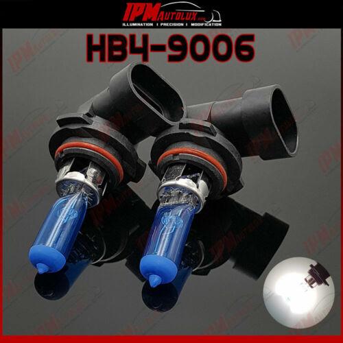 HB4 9006 Kit Set Halogen Light Bulbs Xenon Look White Main High Beam Canbus