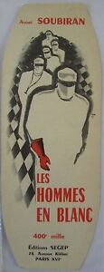 Antique-Brand-Pages-Bookmark-Advertising-Ed-Segep-Soubiran-Les-Hommes-in-White-1