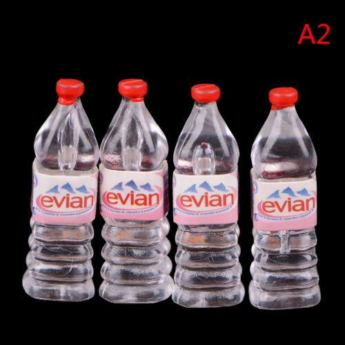 1:12 4Pcs dollhouse water bottle miniature toy doll food kitchen parts Pip CA