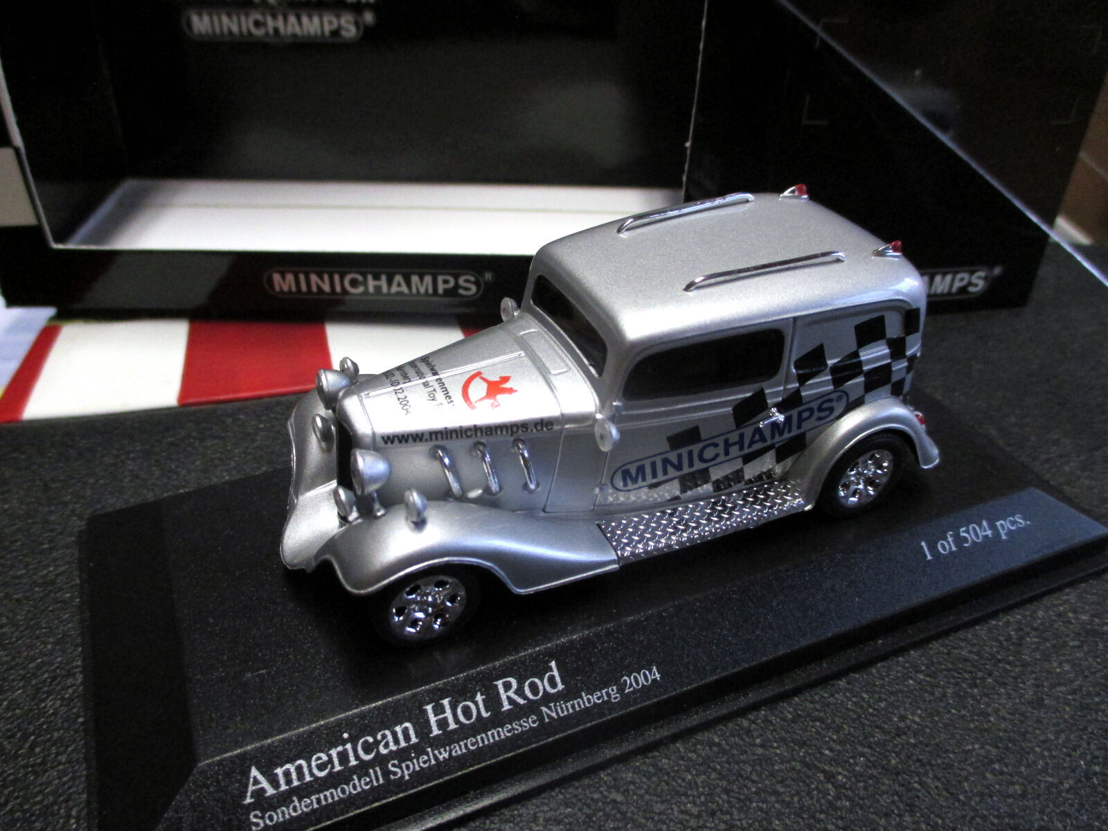 1 43 American Hot Rod Toy  Fair Model Nuremberg 2004 Minichamps Mint + Rare  jusqu'à 65% de réduction