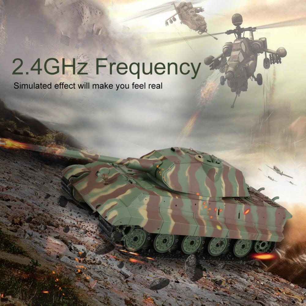 Heng  lunghi 2.4G 3888 1 16 RC autoro armato tedesco battaglia Tiger in Mettuttio re Riautoica USB   GI  i nuovi marchi outlet online