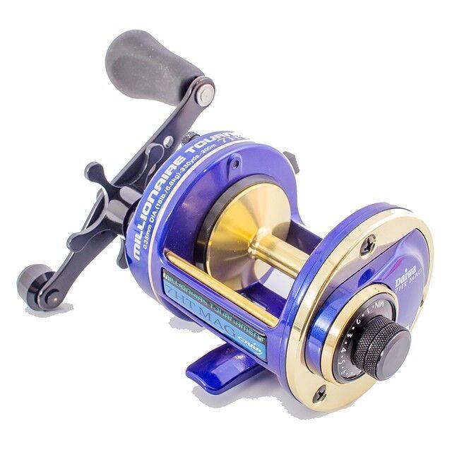 Daiwa millonario 7HT Mag Cocherete multiplicador NUEVO Sea Fishing Reel