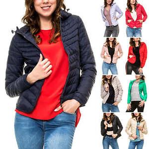 buy online 301e2 aa491 Details zu Only Damen Steppjacke mit Kapuze Übergangsjacke Damenjacke  Leichte Jacke
