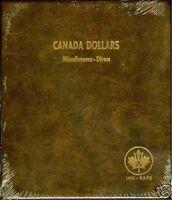 Uni-safe Canada Silver Dollars Blank Album 165