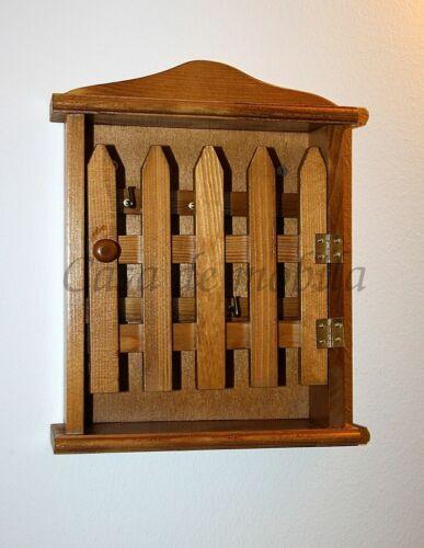 Massivholz Schlüsselschrank Fichte massiv honig Schlüssel-kasten board brett