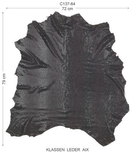 Peaux reptile Design 0,5 Mm Dick vêtements cuir en cuir véritable leather c137