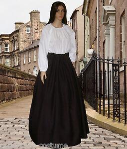 Ladies-Victorian-American-Civil-War-Pioneer-2pc-costume-fancy-dress-sizes-6-20