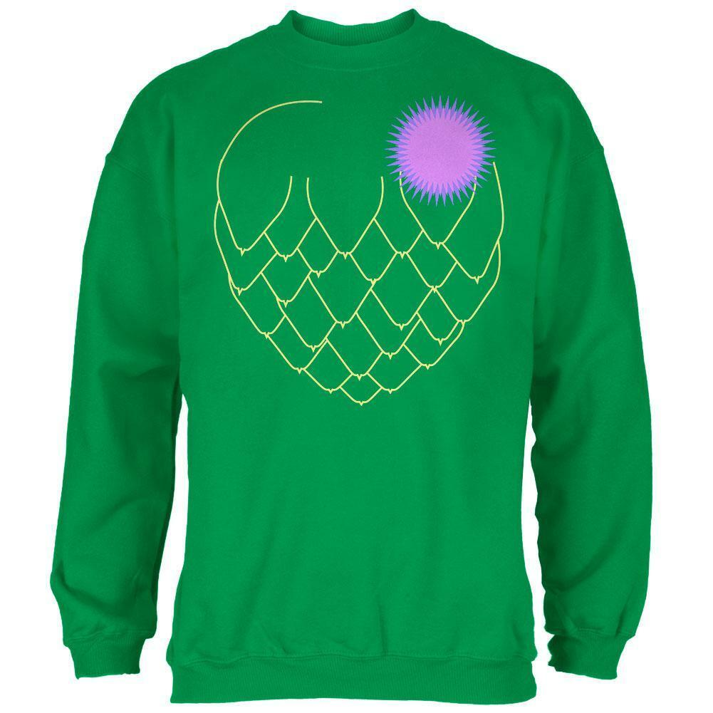 Halloween Vegetable Artichoke Costume  Herren Sweatshirt