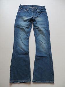 Levi-039-s-516-Schlag-Jeans-Hose-W-31-L-34-RAR-Schlaghose-mit-KULT-Waschung