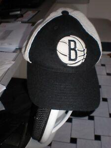 95a7e58219e Image is loading VINTAGE-Brooklyn-Nets-Black-Jordan-Retro-Mitchell-amp-