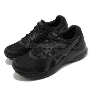 Asics Jolt 3 D Wide Black Grey Women Running Shoes Sneakers Trainer 1012A909-002