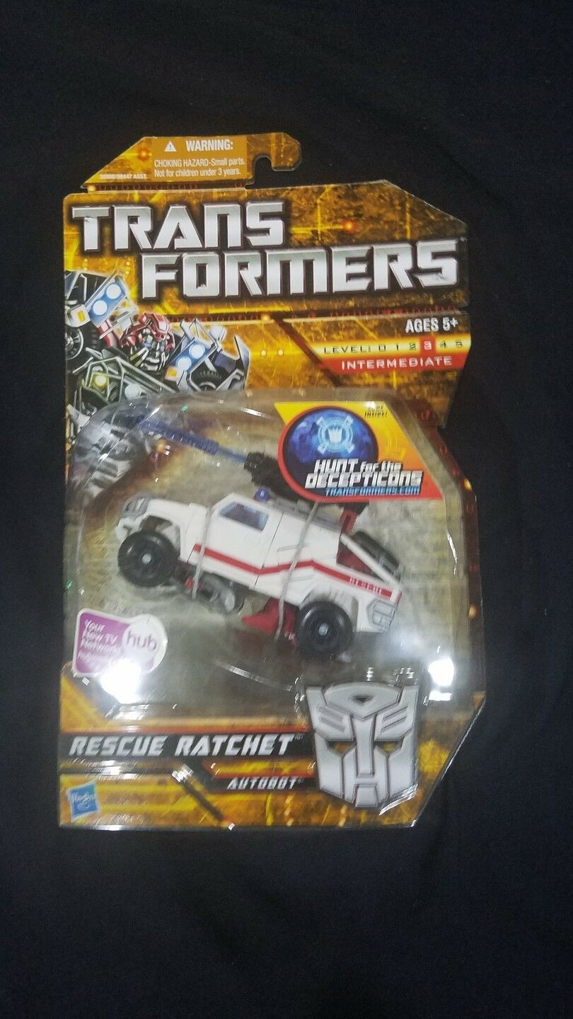 HASBRO Transformers RESCUE RATCHET Hunt for the Decepticons MISB Deluxe Class