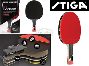 Image Is Loading Stiga Carbon Ping Pong Racket Tennis Table Pro