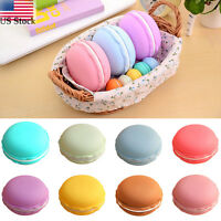 For Earphone Tf Sd Card Hot Macarons Bag Big Storage Box Case Carrying Pouch Us