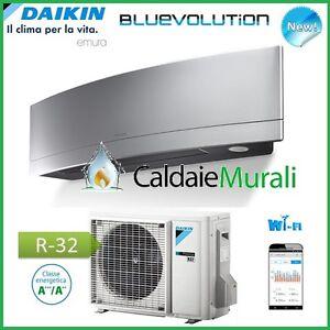 CONDIZIONATORE-DAIKIN-INVERTER-EMURA-SILVER-WiFi-FTXJ35MS-R32-Bluevolution-12000