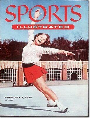 February 7, 1955 Carol Heiss Figure Skating SPORTS ILLUSTRATED