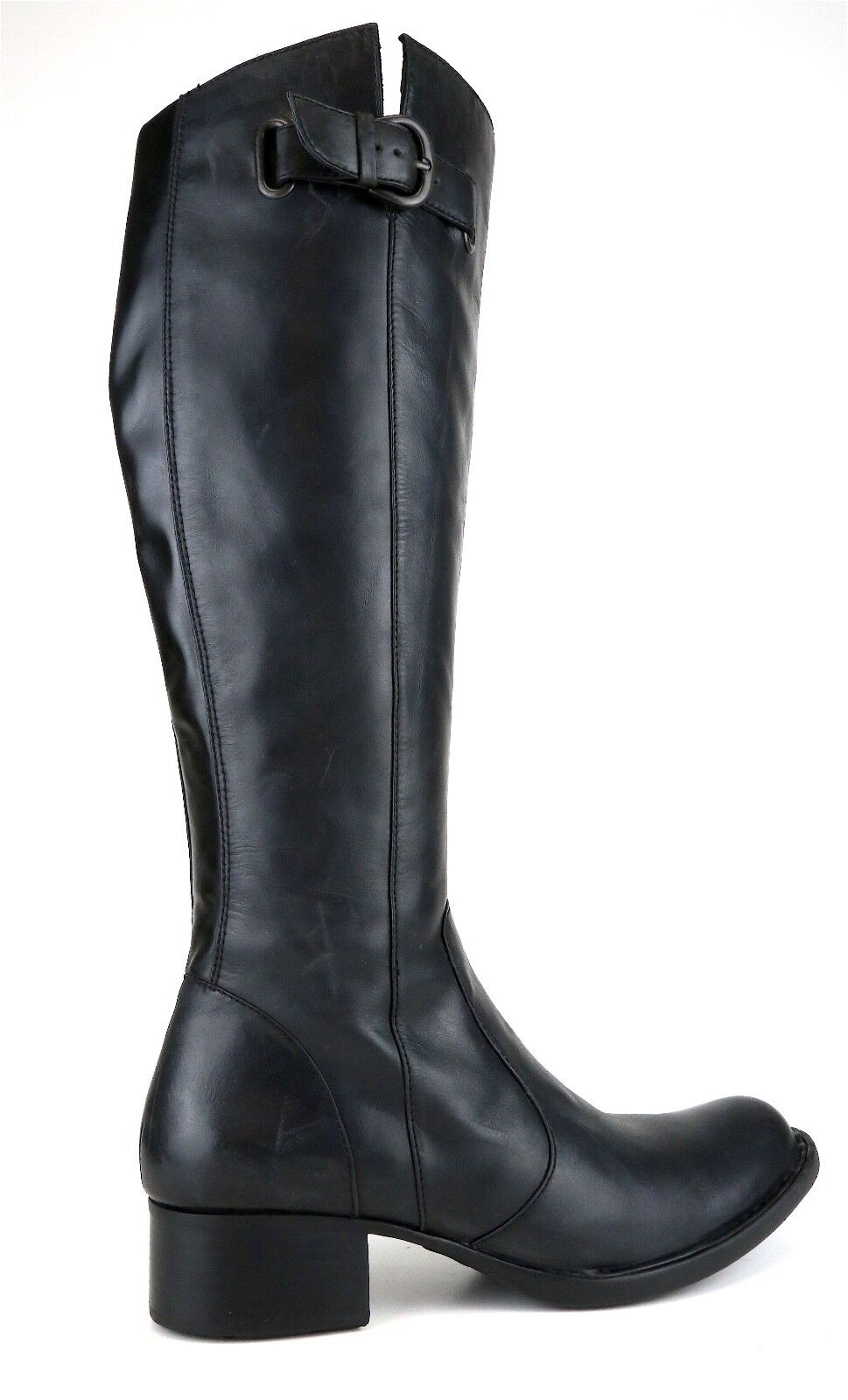 Crown By By By Born Roxie Leather Boot Black Women Sz 6 5115  d5a8f7