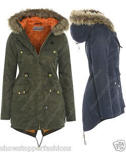 Ladies Parka Jacket 2sVDCh