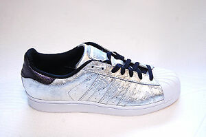 Superstar 9 Adidas Taille Argent Uk Hommes Originals Blanc 10 Baskets 7 Aq4701 8 vaqw5Bq6