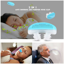 Anti Snore Air Purifier Device Sleep Aid Apnea Sleeping Nasal Congestion Snoring